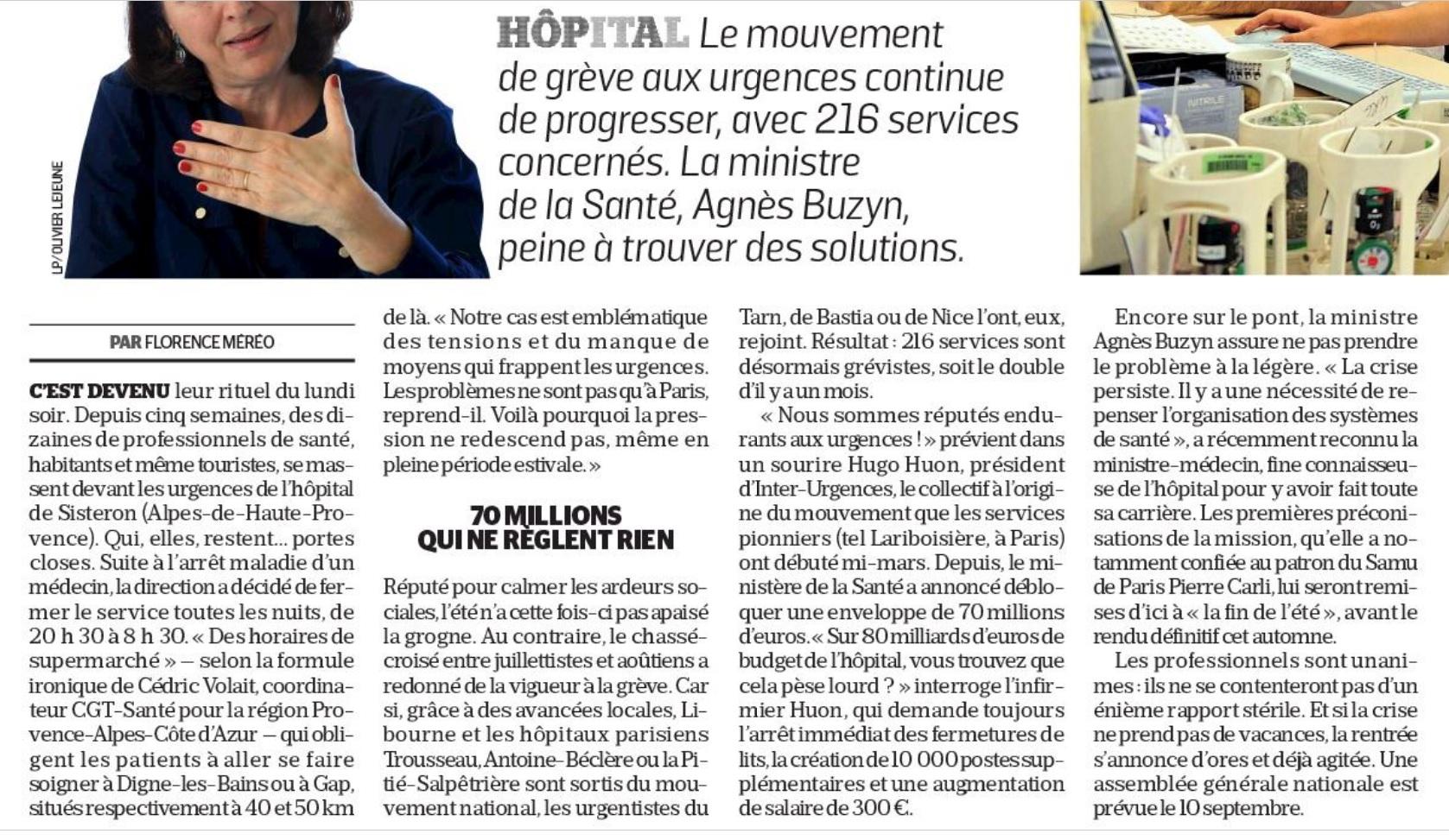 1154. Dossier crise aux urgences (4)