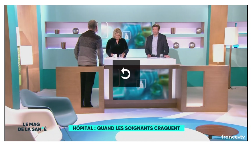Christophe Prudhomme sur France 5 (2)