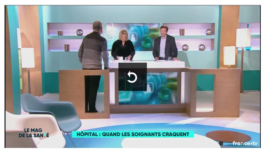 Christophe Prudhomme sur France 5 (2)