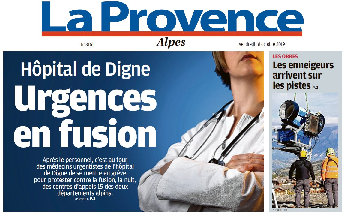 1181. La Provence du 18 octobre 2019 (1)