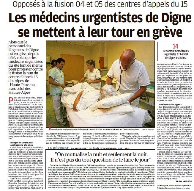 1181. La Provence du 18 octobre 2019 (2)