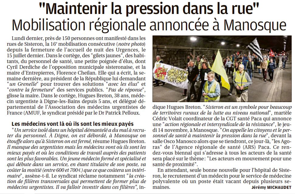 1181. La Provence du 18 octobre 2019 (5)