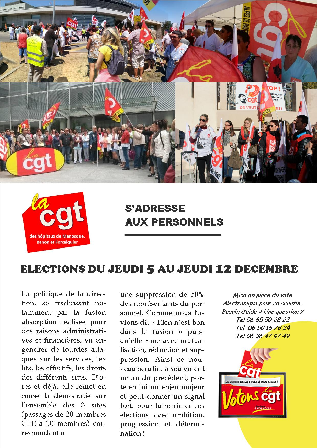 4 pages CGT hôpital Manosque octobre 2019 (1)