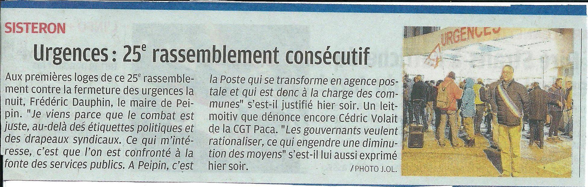 Article La Provence du 17 décembre 2019