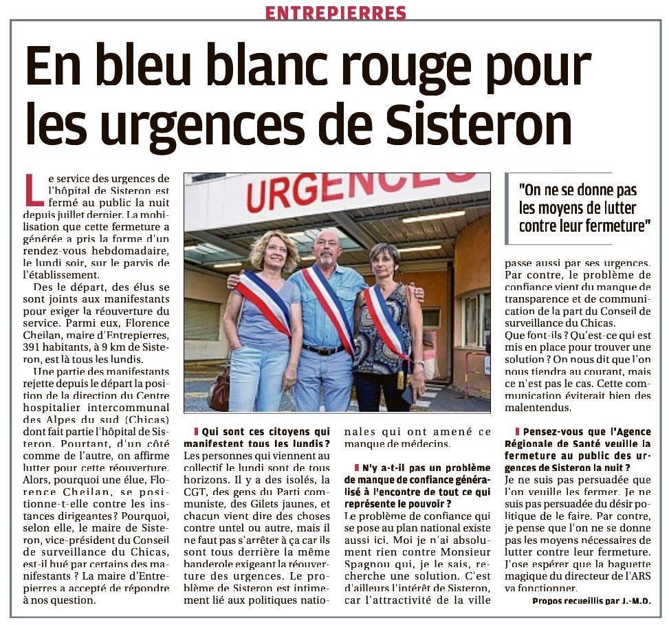1224. Article La Provence du 25 janvier 2020