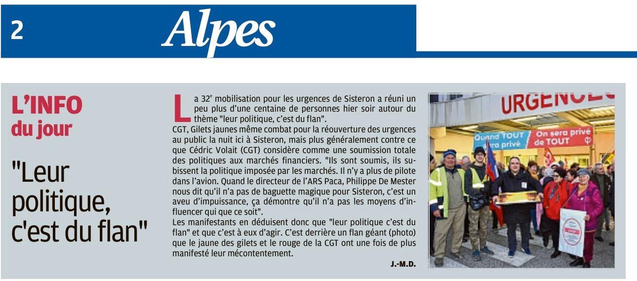 1226. Article La Provence du 4 février 2020