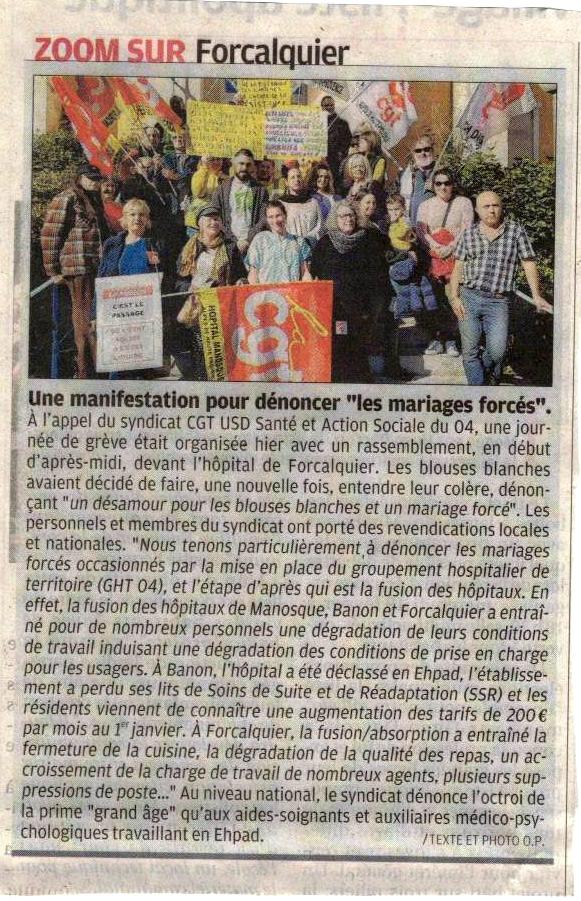 1230. Article La Provence du 15 février 2020