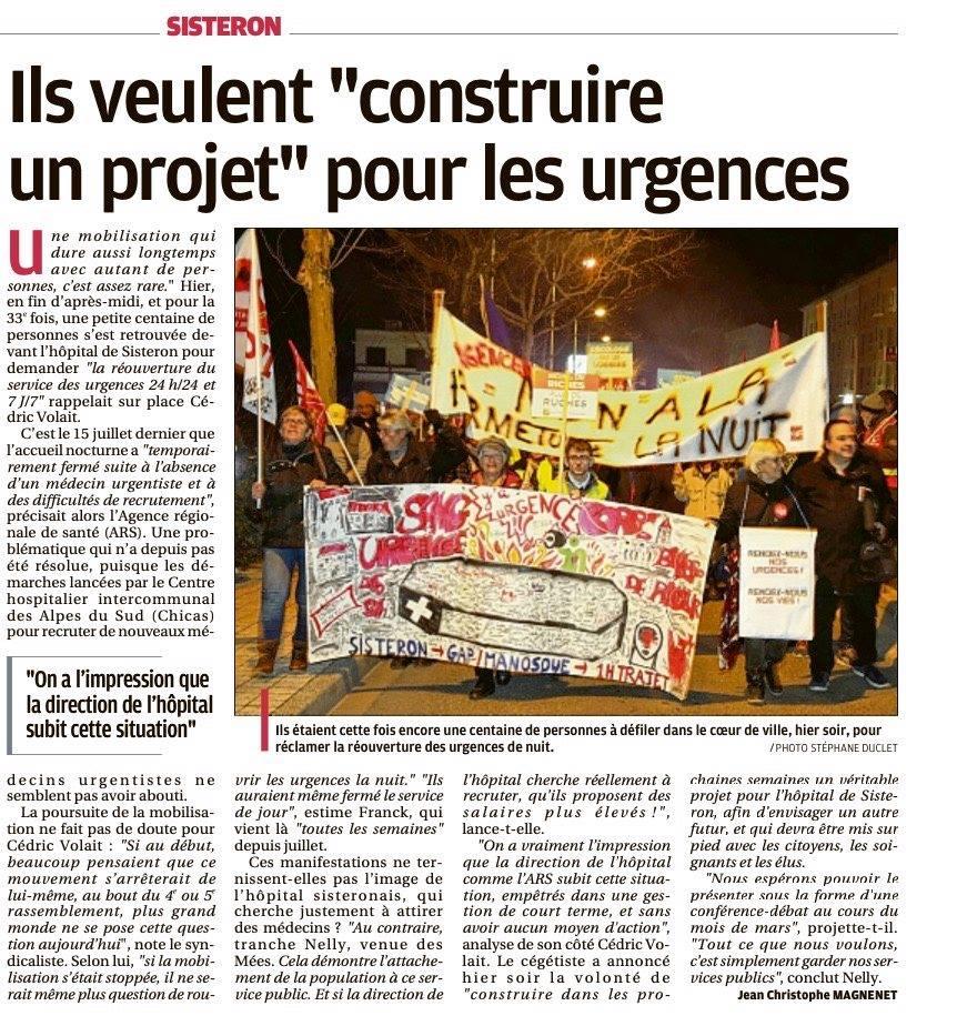 Article La Provence du 11 février 2020