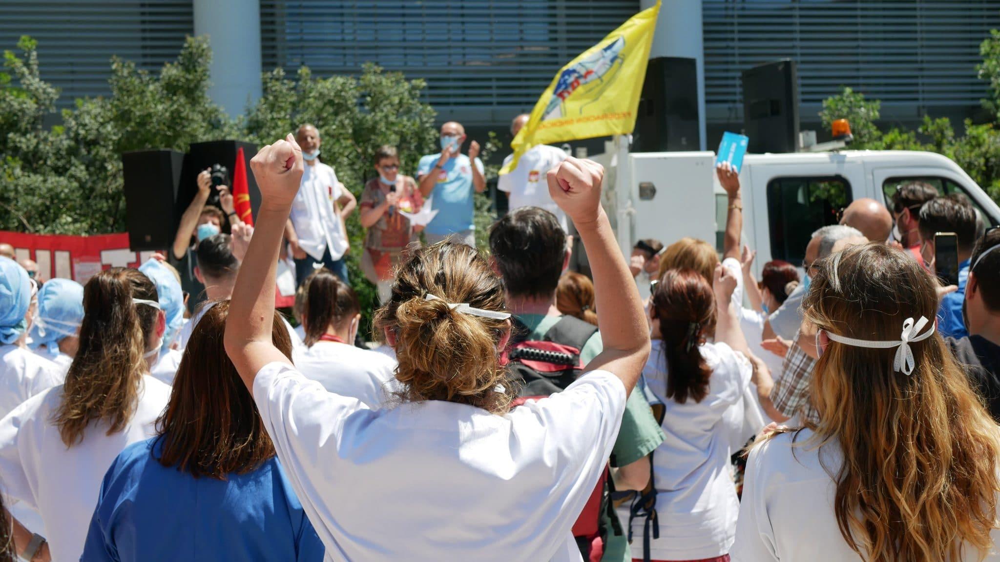 Rassemblement grève soignants Ségur de la Santé