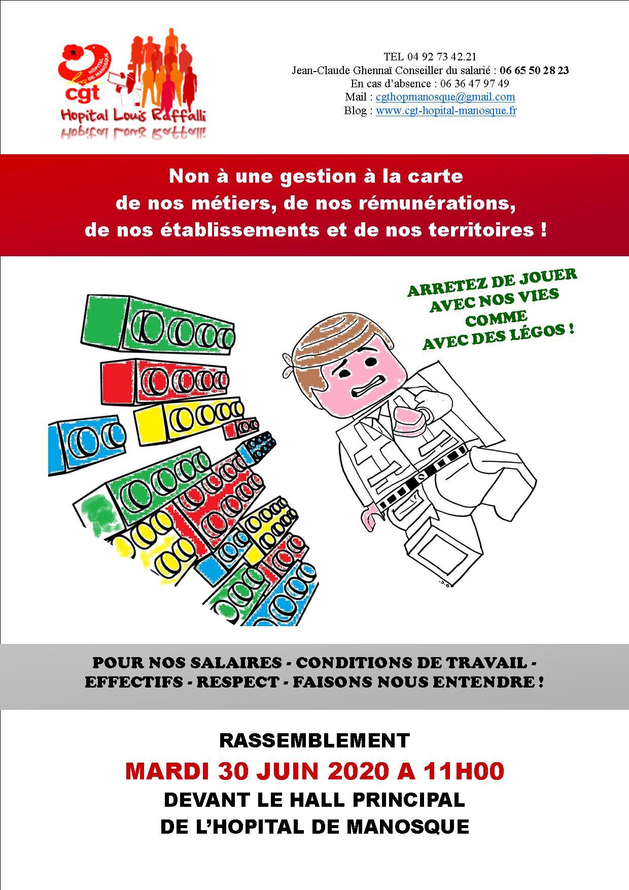 Tract CGT Hôpital de Manosque 30 juin 2020 (p1)