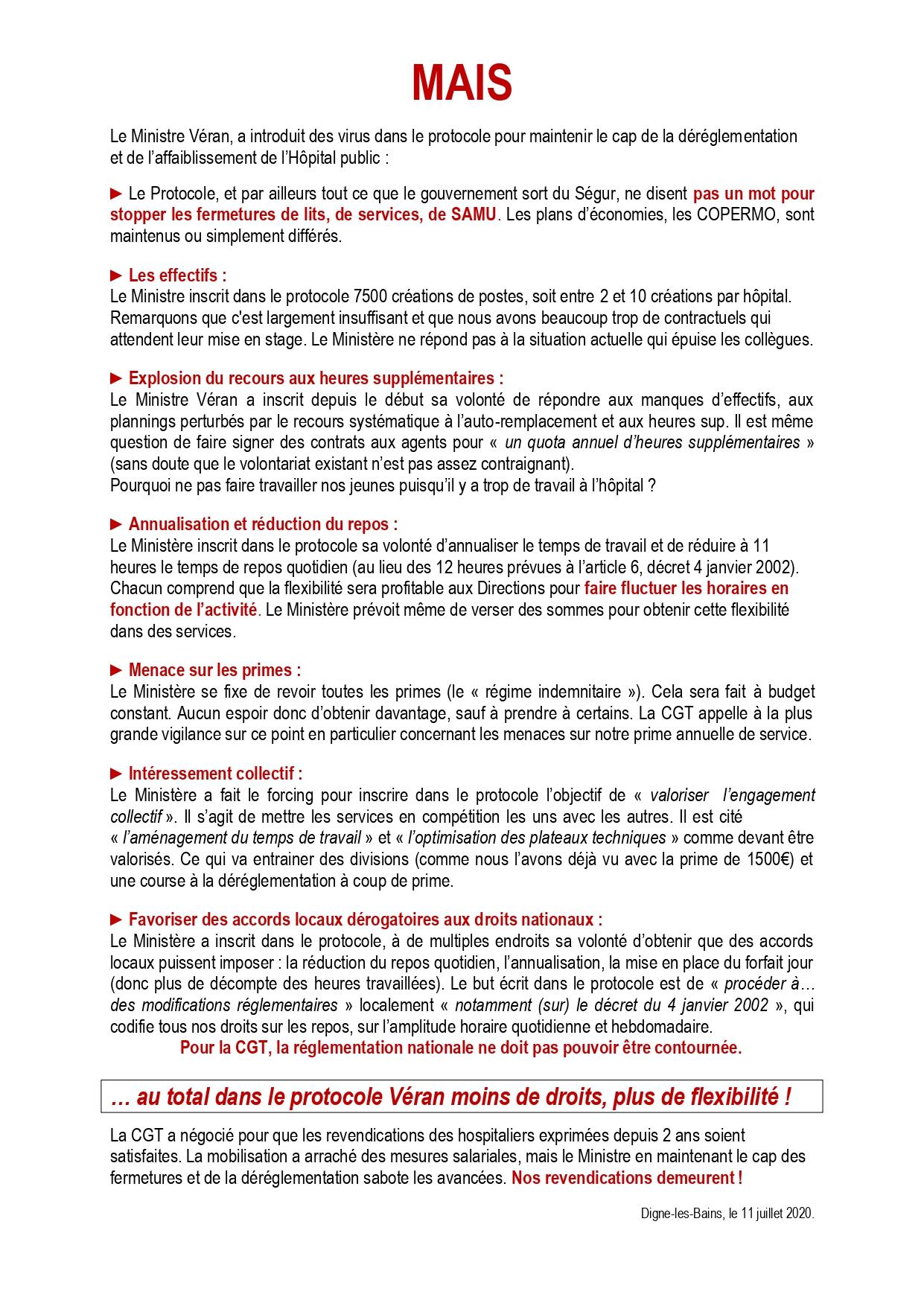 1273. Négociations Protocole Ségur de la Santé CGT Santé p2