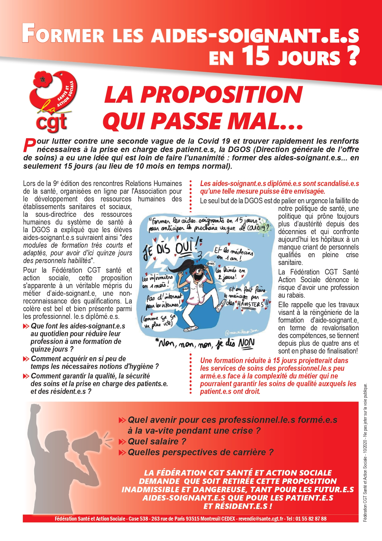 1302. Tract formation aides-soignantes en 15 jours