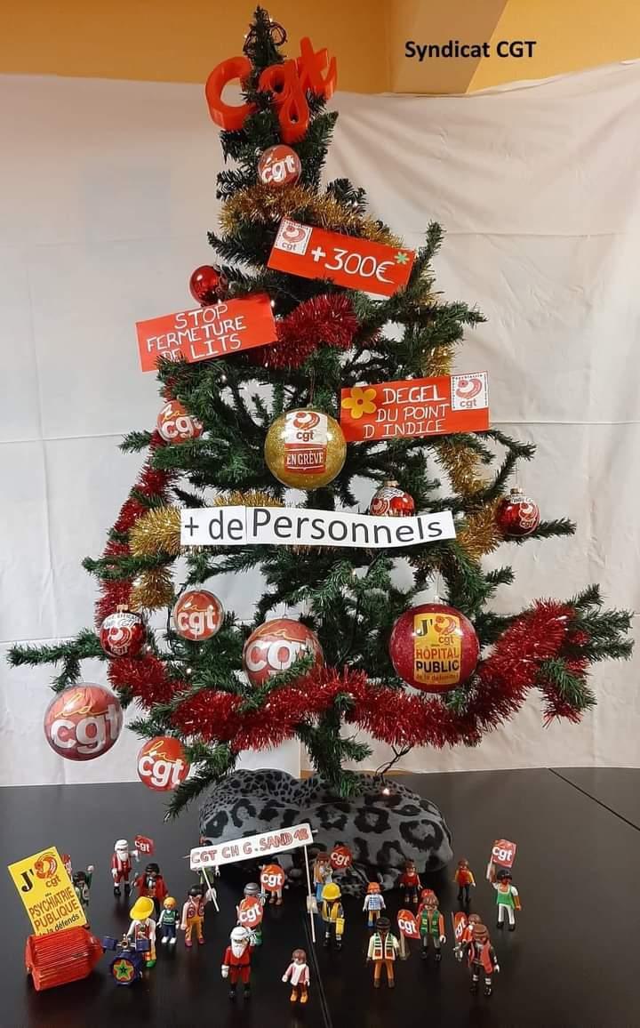 1325. Joyeux Noël CGT Santé