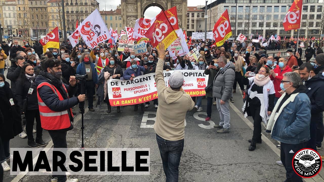 1333. Manif régionale à Marseille 21 janvier 2021