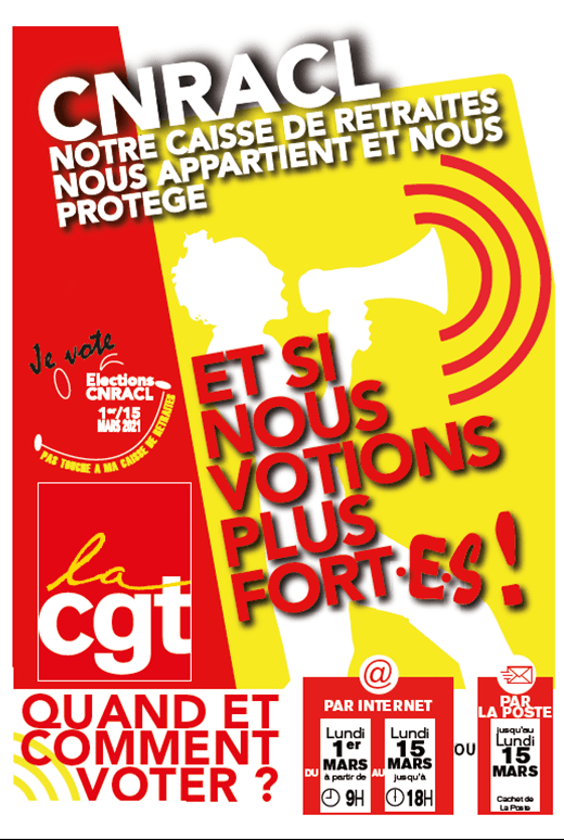 1343. Elections CNRACL affiche 1