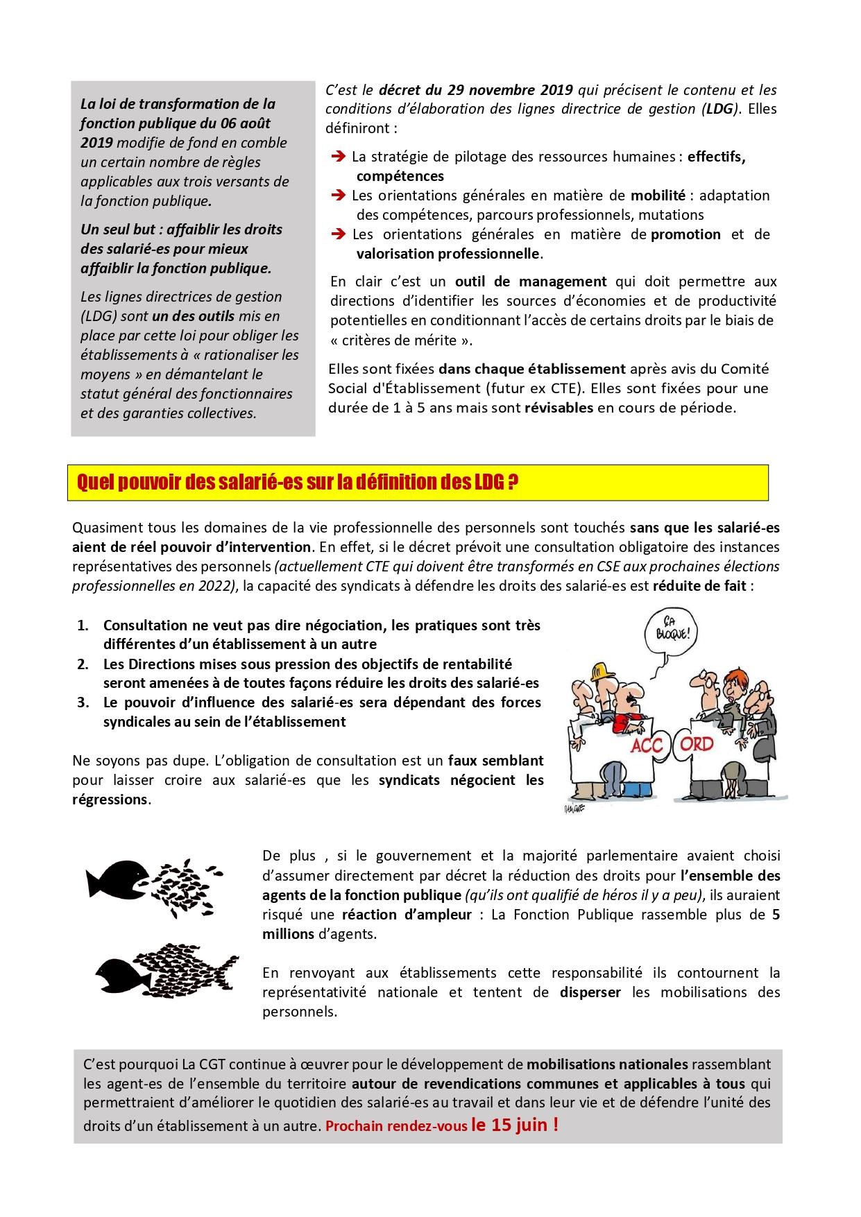 1357. 4 pages LDG CGT Hôpital de Manosque 2 sur 4